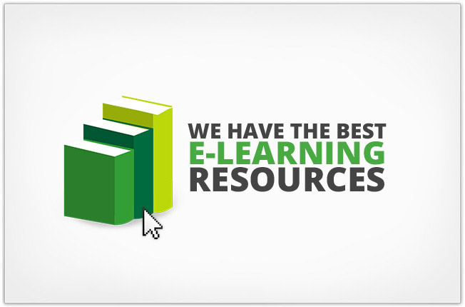 We have the best e-learning resources.